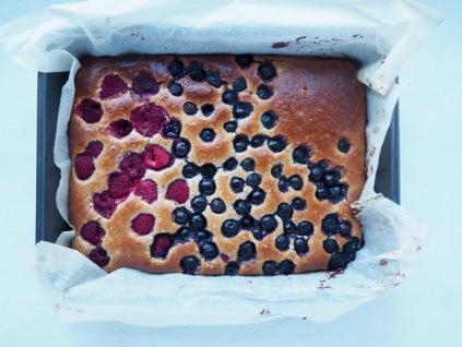 Cake met amandelboter