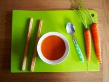 Kruidige wortelsoep