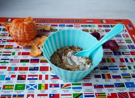 Granola met kokos en dadels