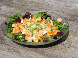 Salade met mandarijn, kopen avocado