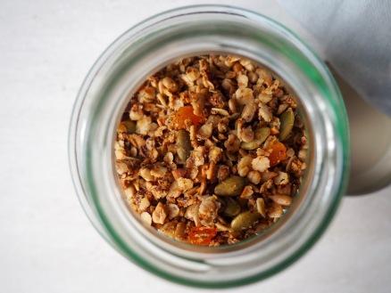Speculaas granola
