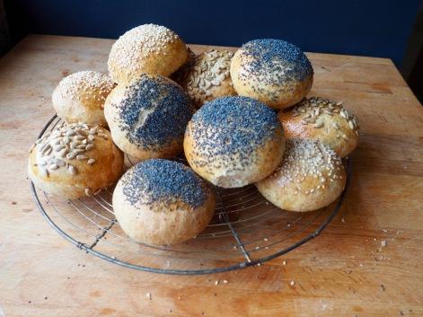 Broodjes bakken